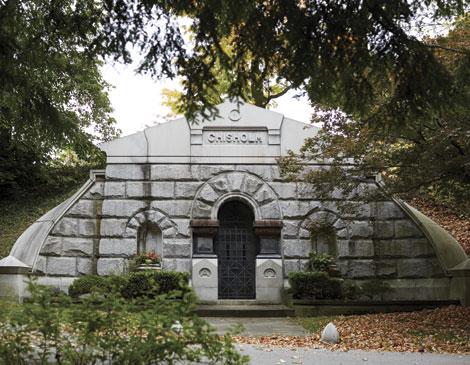 Chisholm Mausoleum Exterior