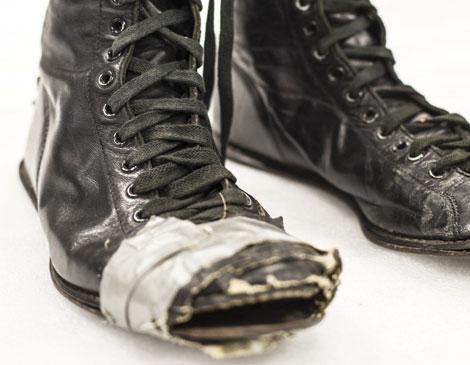 Rock Hall Patti Smith boots