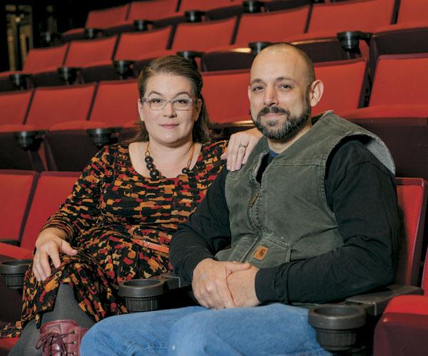 Tesia and Aaron Benson