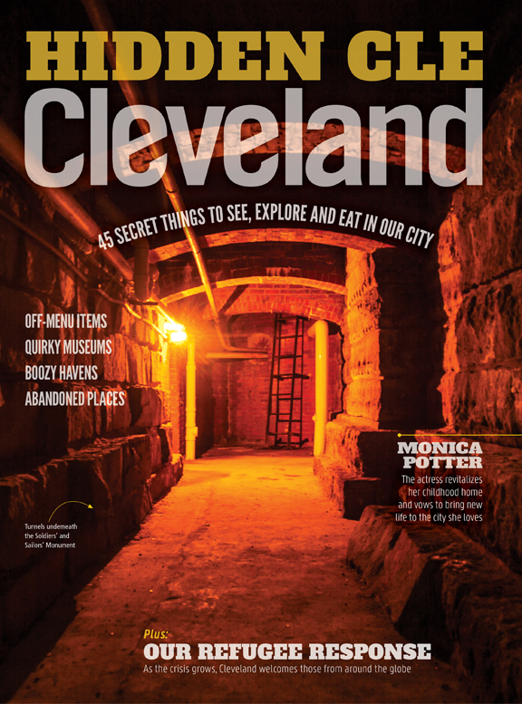 Cleveland Magazine December 2016 Cover