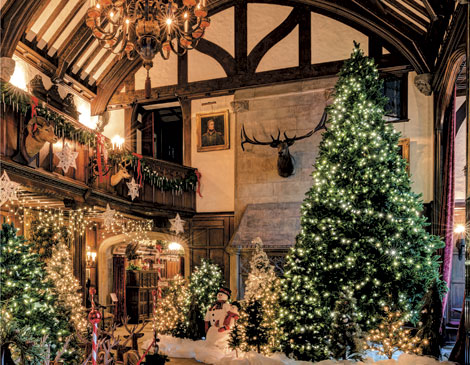 Turn A Page On A Storybook Christmas At Stan Hywet S Deck The Hall