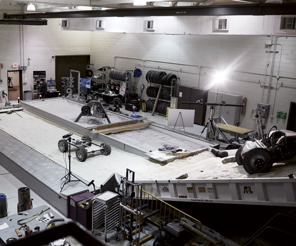 NASA Simulated Lunar Operations lab