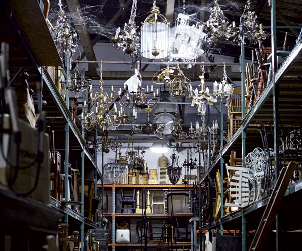 Cleveland Playhouse Prop Room