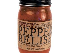 Rust Belt Pepper Co.'s Roasted Mediterranean Spicy Pepper Relish