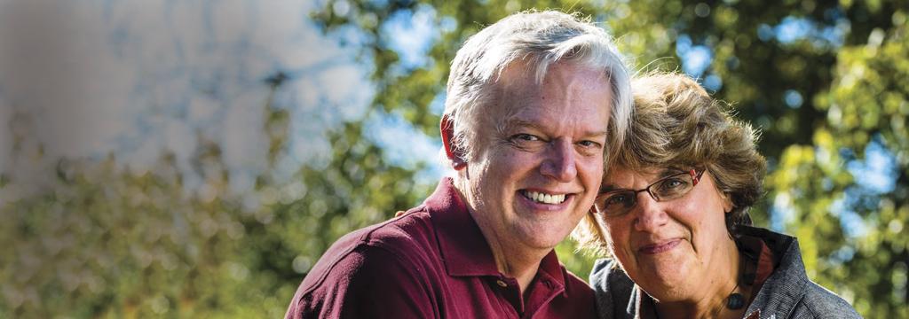 Bob and Luanne Becker