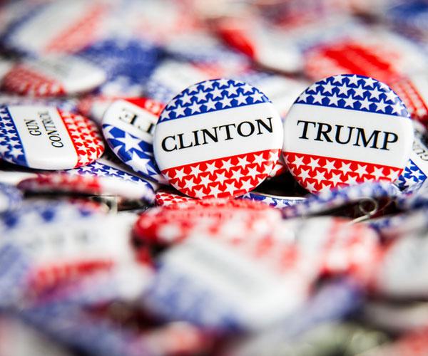 Clinton Trump Buttons Thumbnail