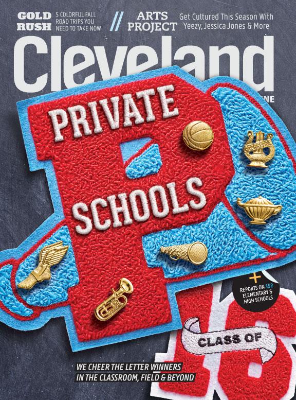 Cleveland Magazine September 2016 Cover