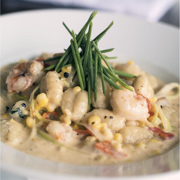 Sarita's Shrimp Gnocchi