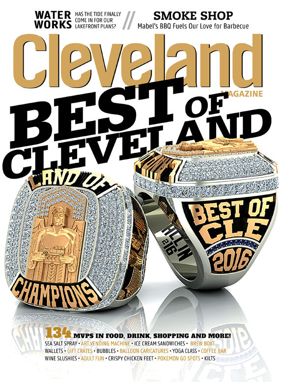 Cleveland Magazine Cover October 2016