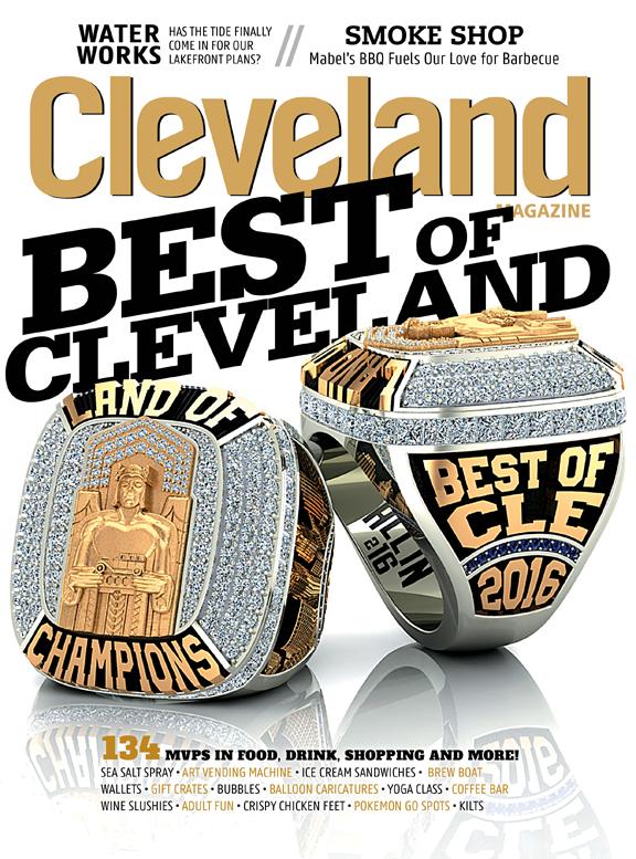 Cleveland Magazine Cover October 2016