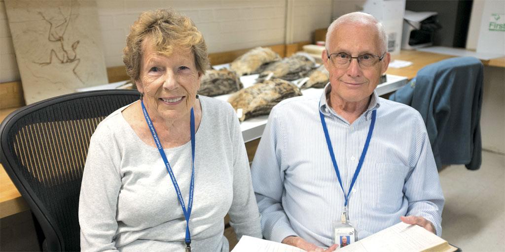 Donna and Peter Pesch