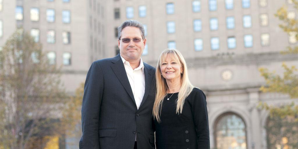 Doug Price and Karen Paganini