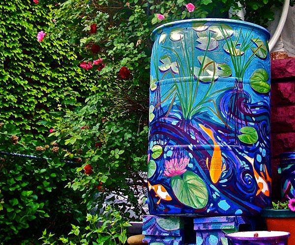 Summer Rain Barrel Project