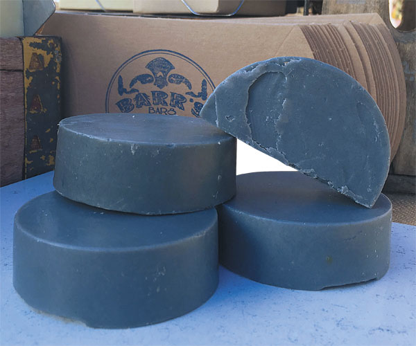 Barrs Bars Ltd's Charcoal Soap
