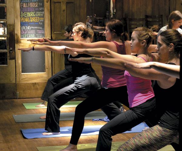 Balance & Brews Yoga Class