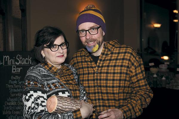 Robin and Scott Suttell
