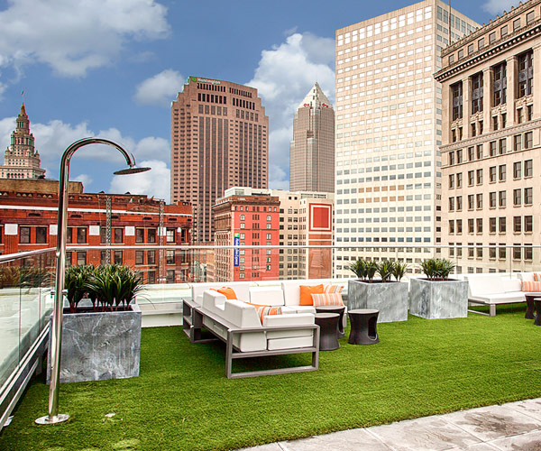 The Must-Do List: Throw a Party on the Azure Rooftop Lounge