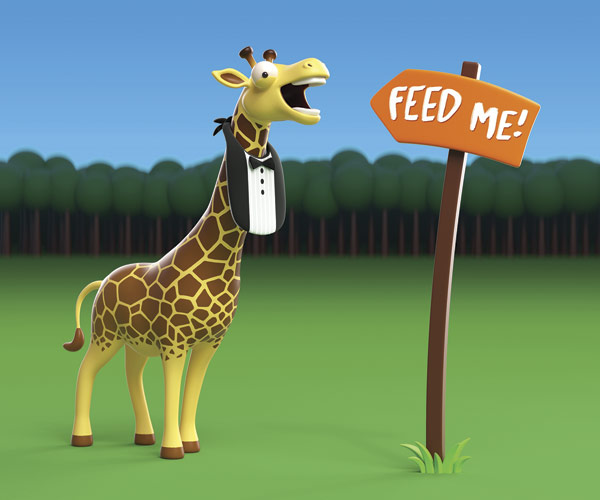 Feed the Giraffes Cleveland Metroparks Zoo