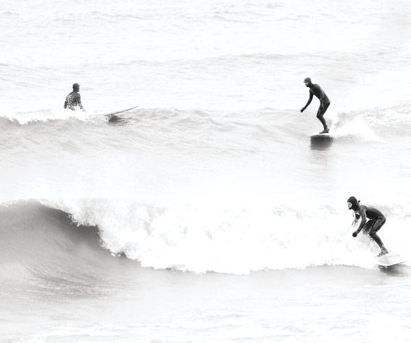 Surfing Lake Erie