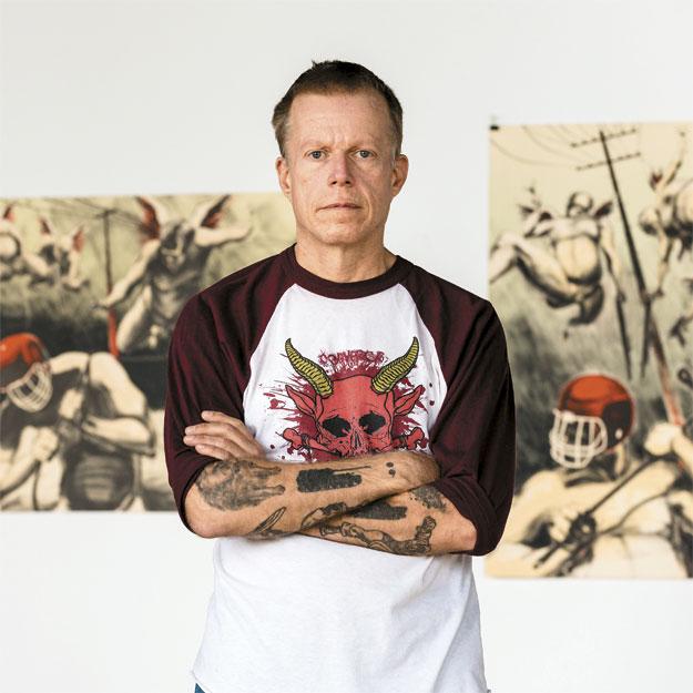 Derek Hess Angelo Merendino