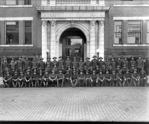 WWI Men from Massilon