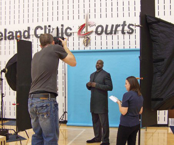 Shaquille O'Neal interviewed by Cleveland Magazine
