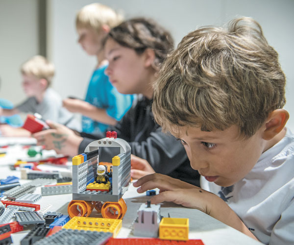 LEGOs Great Lake Science Center