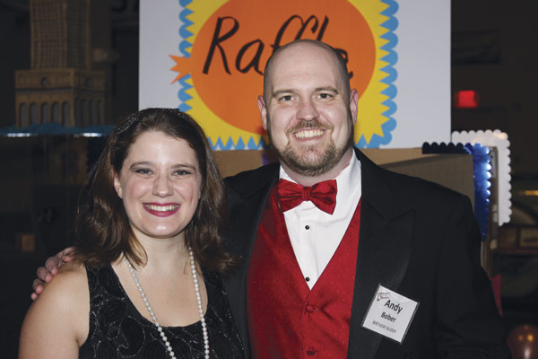 Liz Bernal and  Andy Bober