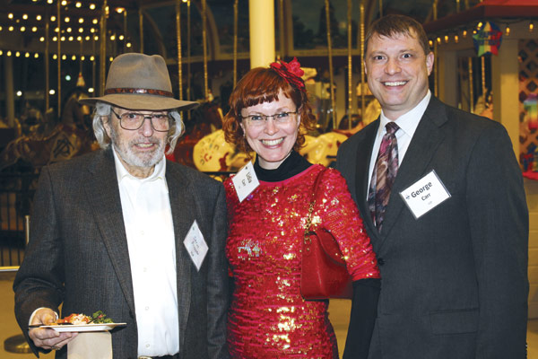 Steve Propper, and  Lidia and George Carr