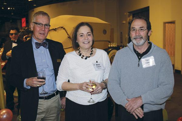 John Grabowski, and Mary and Tom Thoburn