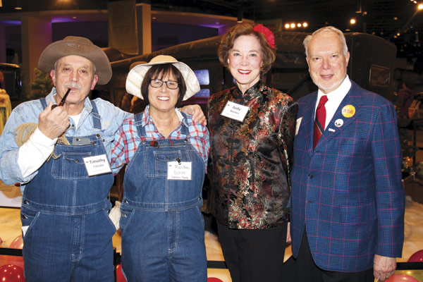Tim Falcone, Marianne Dahler,  and Judy and Cliff Reeves