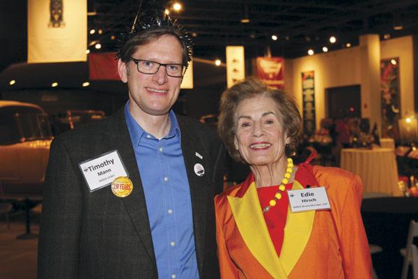 Tim Mann and  Edie Hirsch