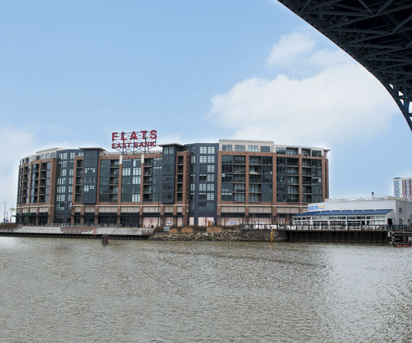 Flats East Bank