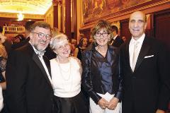 John and Pat Chapman, and Susie and Jim Ratner