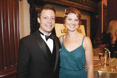 "<style type=""text/css"">     p.p1 {margin: 0.0px 0.0px 0.0px 0.0px; line-height: 8.0px; font: 7.0px Frutiger; color: #ffffff} </style> <p>Matt and Jennifer Rome</p>"