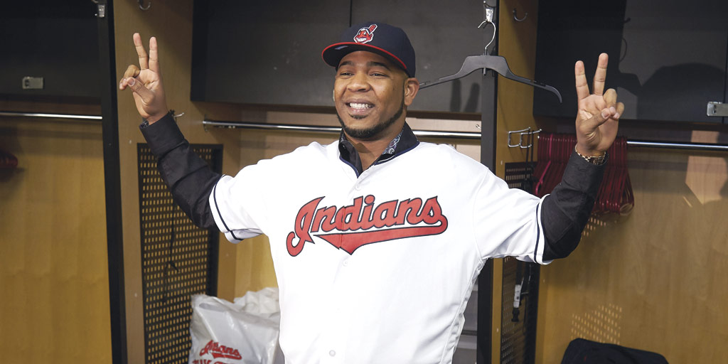 Edwin Encarnacion signs with Cleveland Indians