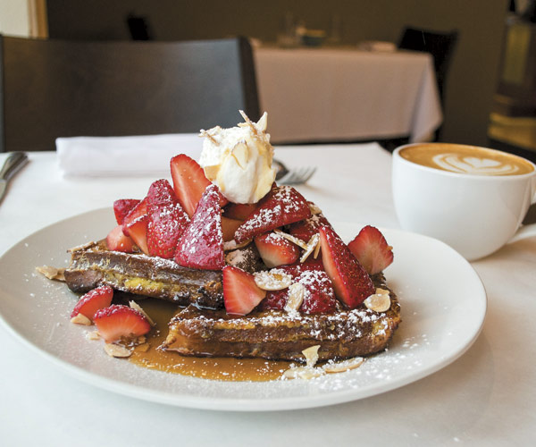 Fire Food and Drink French Toast