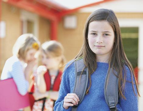 Girl Ignoring Bully