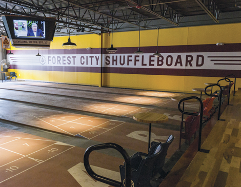 Forest City Shuffleboard