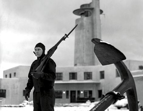 Coast Guard Station 1944