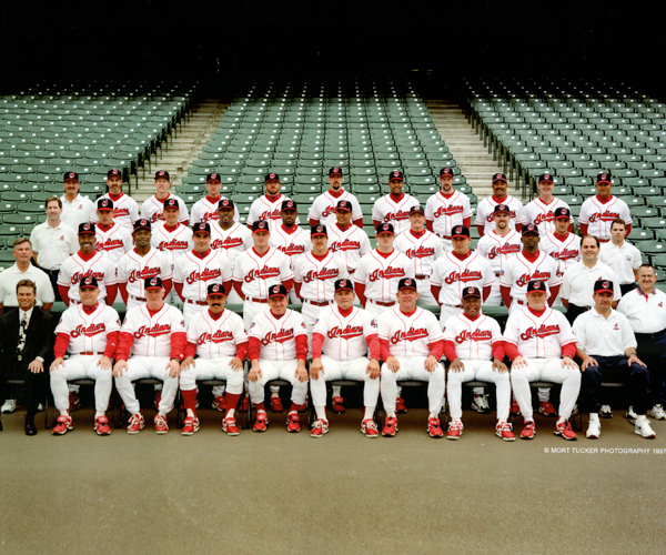 1997 Cleveland Indians Team Photo