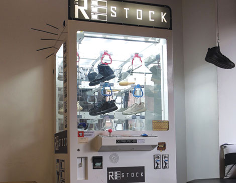 Restock Vending Machine