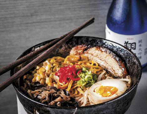 Xinji Noodle Bar Spicy Ramen