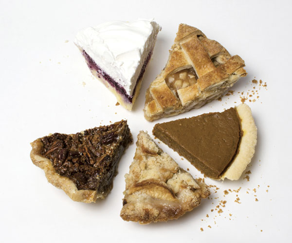 Five Local Pies