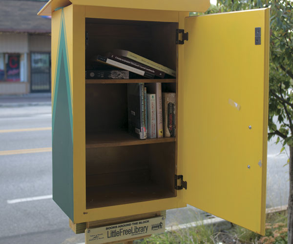Read Up On The World's First Little Free Library Neighborhood
