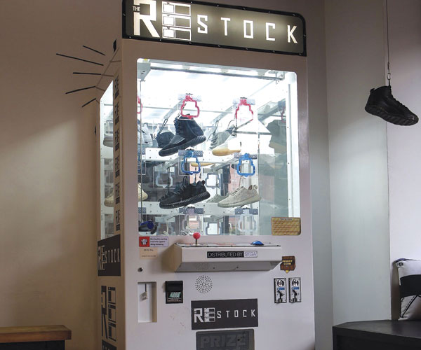 Restock Vending Machine