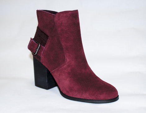 Sbicca Lorenza Tawny Port Booties