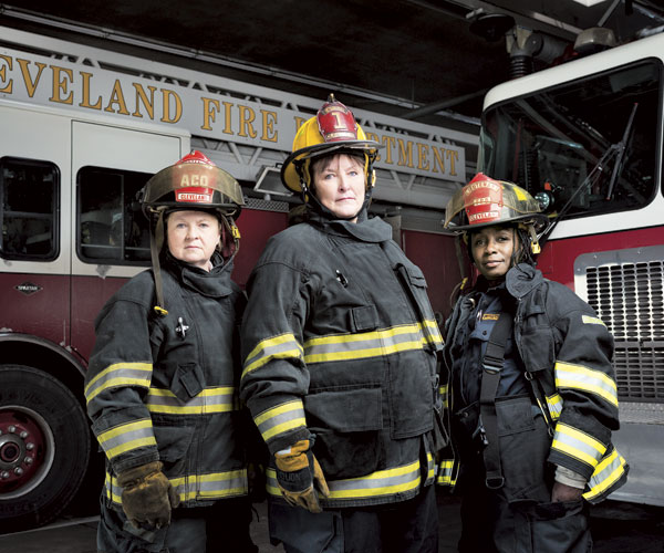 Cleveland's Three Women Fire Fighters Are Trail Blazers In Their Field
