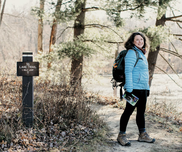 Woman Hikes Every Mile Of Cuyahoga Valley National Park