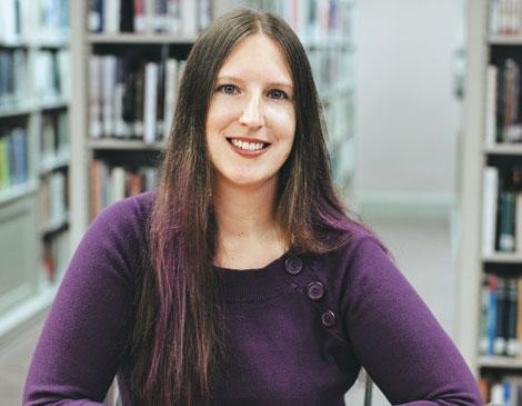 Gordon Square Review Editor Laura Maylene Walter